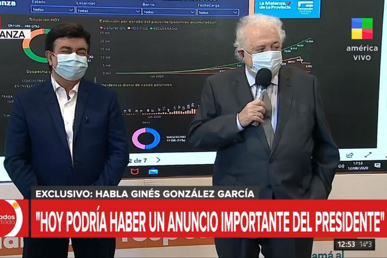 Vacuna de Oxford contra el Coronavirus: Ginés González García hará el anuncio sobre la producción de la misma en Argentina. La conferencia se haría con los directivos de AstraZeneca, el laboratorio con el que se avanzaría en el proyecto.