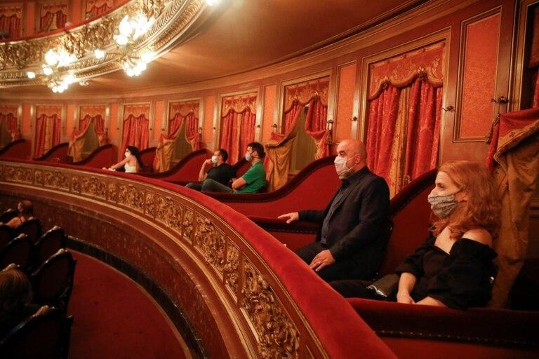 Reapertura del Teatro Colón con protocolos por la pandemia de coronavirus