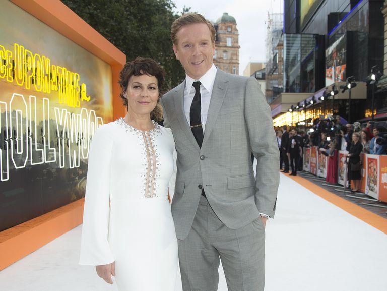 Helen McCrory y Damian Lewis en el estreno de Once Upon A Time in Hollywood, en Londres el 30 de julio de 2019