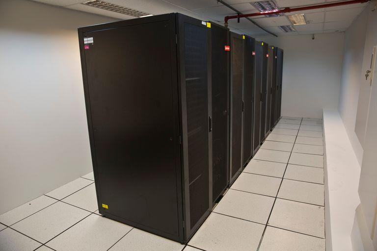 La supercomputadora que funciona en el Servicio Meteorológico Nacional