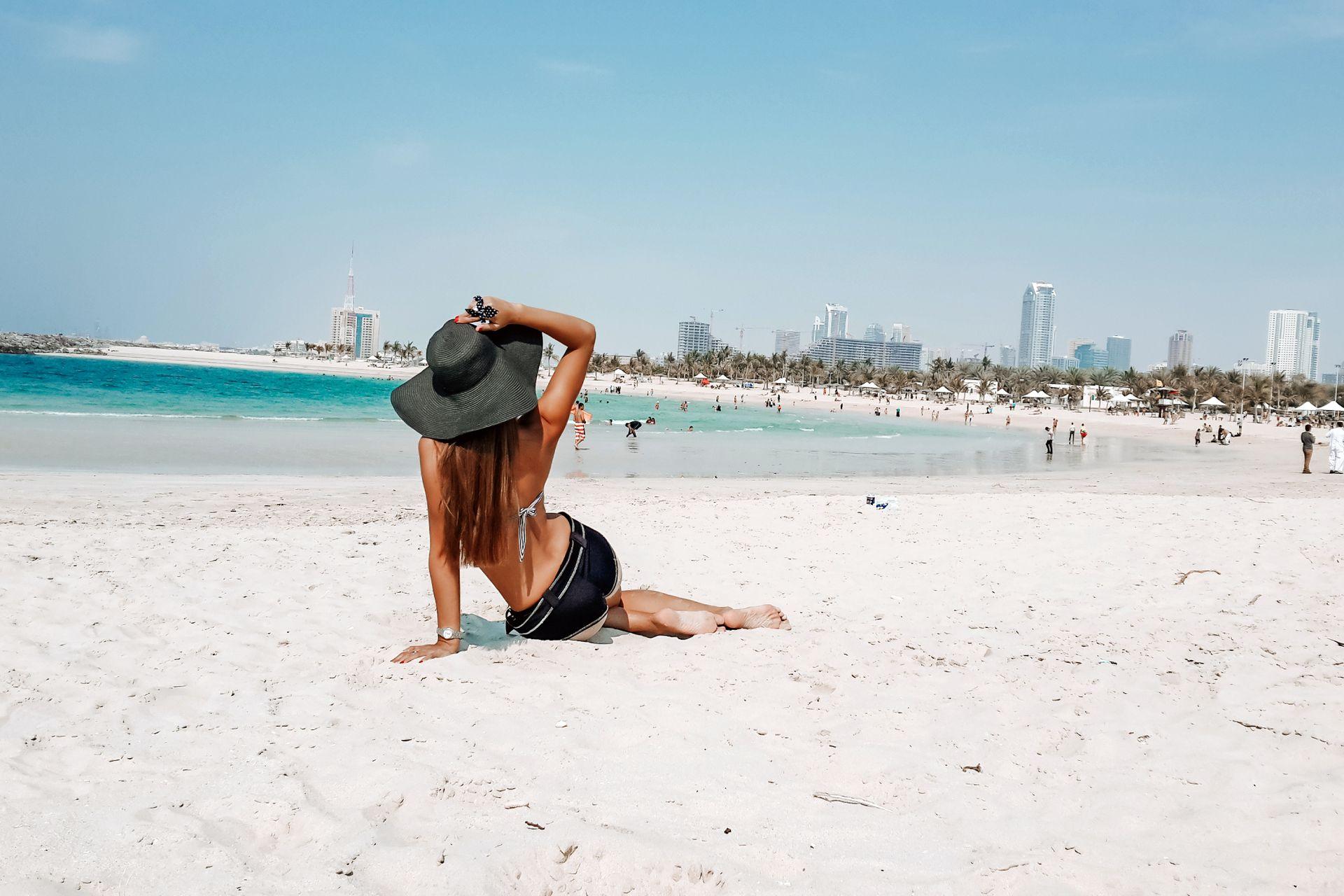 Al Mamzar Beach, Dubái.