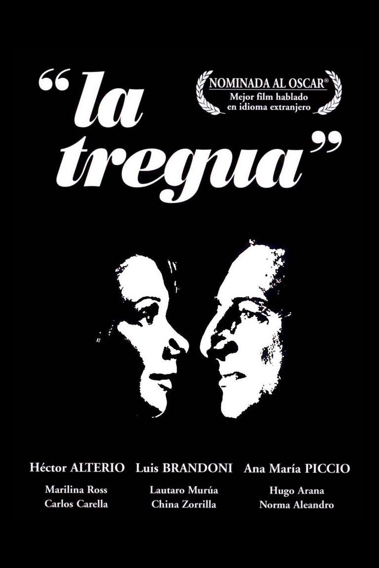 Afiche de La tregua, primera película argentina candidata al Oscar