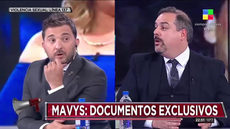 Diego Brancatelli fue uno de los panelistas de Intratables que cuestionó la denuncia de Mavys Álvarez contra Diego Maradona por abuso