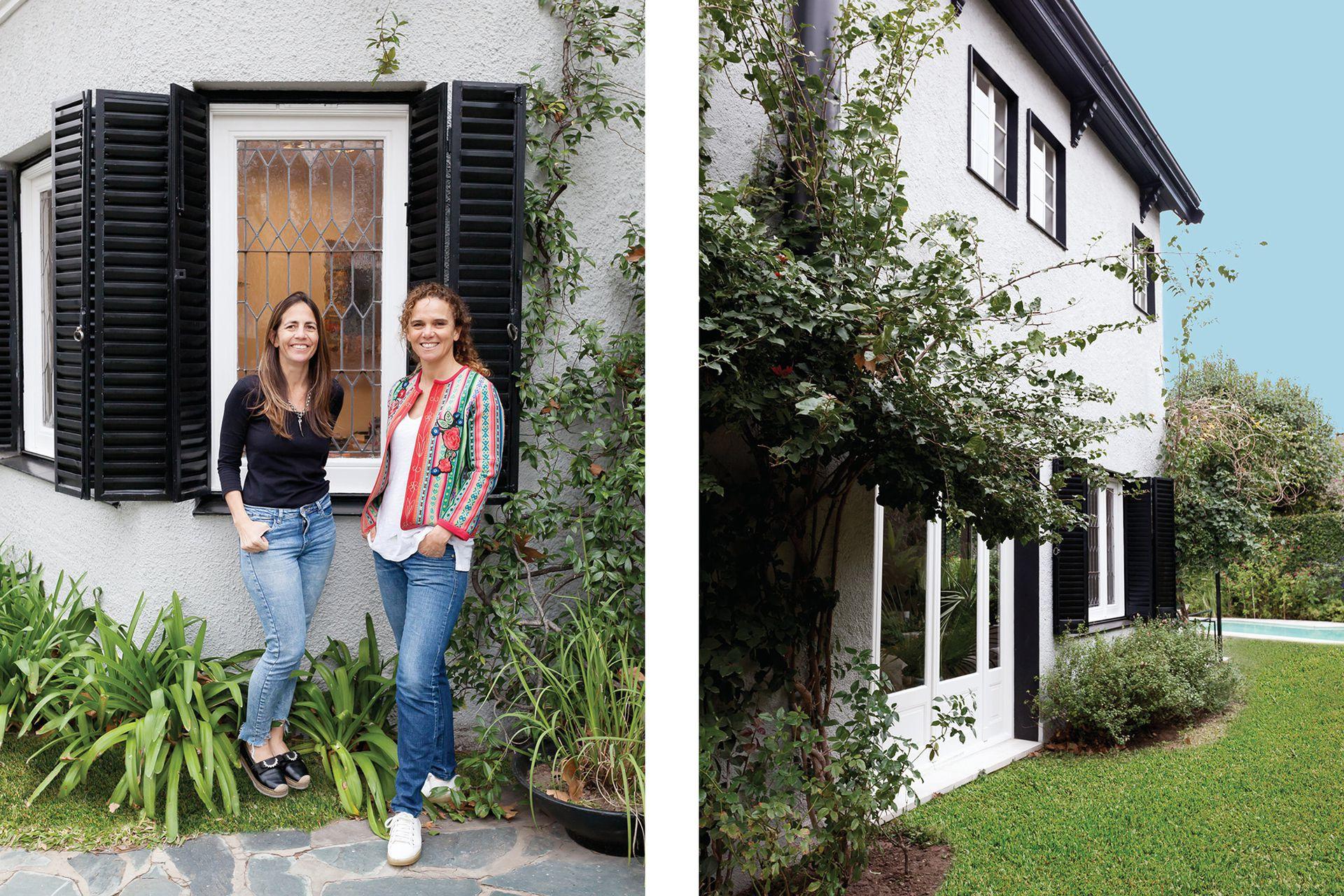 María Maqueda y Mercedes Oneto, socias de MMO Arquitectas, la dupla que llevó adelante la reforma.