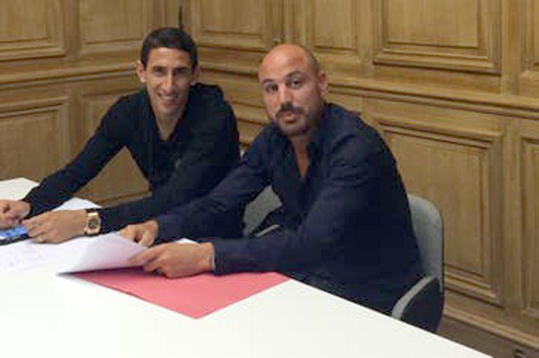 Con Di María, figura en las semifinales de la Champions, en las entrañas del PSG