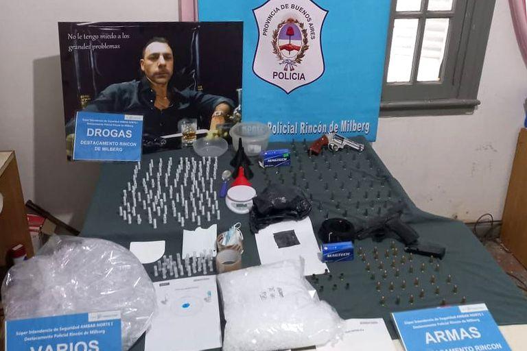 Exaltado por el consumo de cocaína comenzó a disparar en su departamento