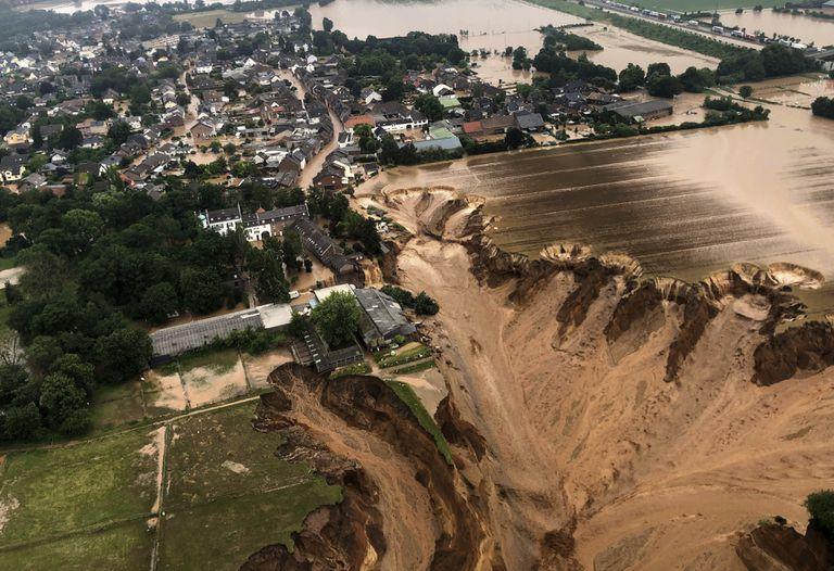 Desastre en Europa por las inundaciones: 126 muertos y decenas de desaparecidos
