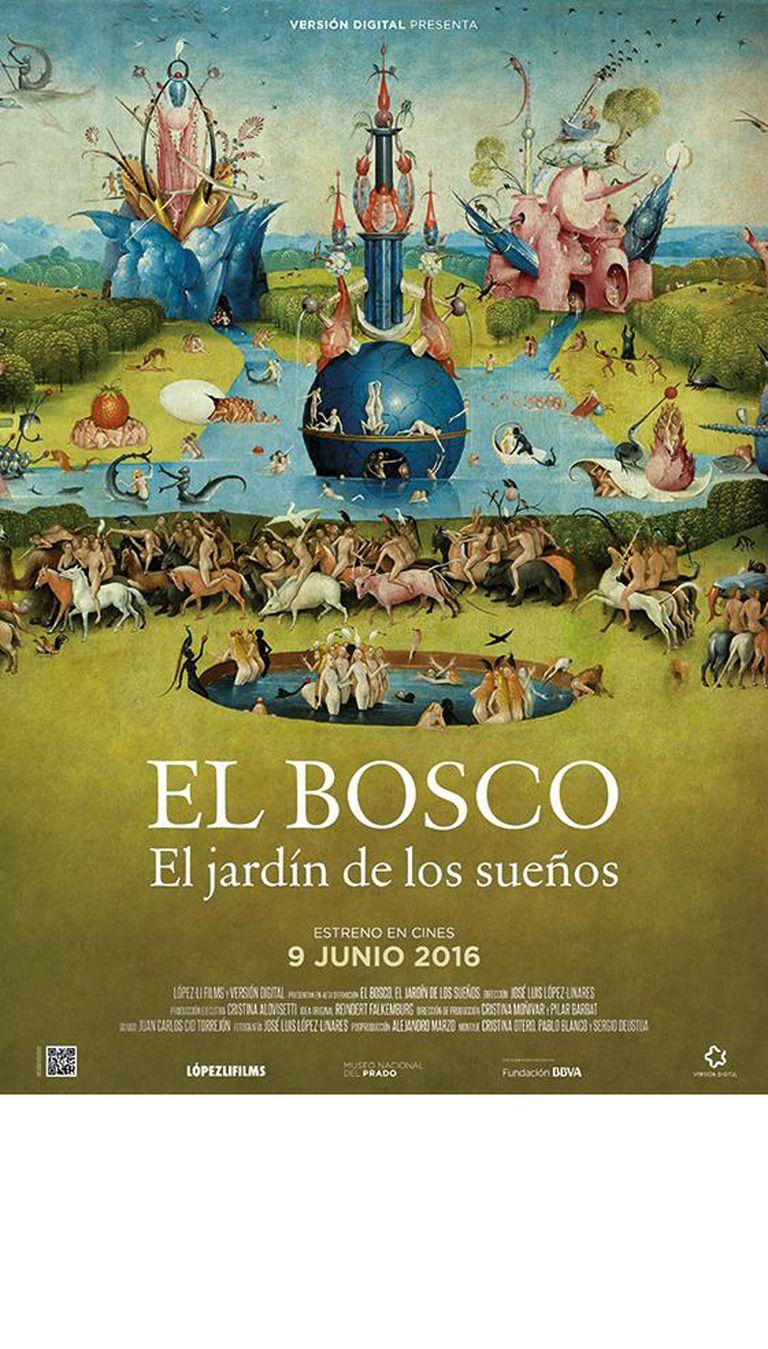 Afiche de la película El jardín de los sueños, que se estrena hoy en varios países