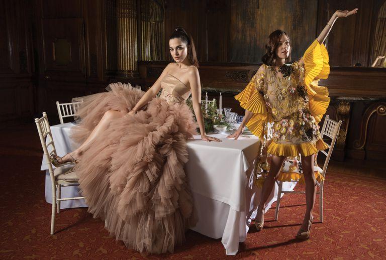 Navidad de moda. Una liga de beauties celebra la Nochebuena por todo lo alto