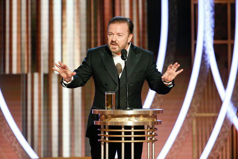 Ricky Gervais fue el encargado del monólogo de apertura de los Globo de Oro 2020