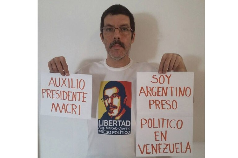 Crovato pidió al Gobierno argentino que ayudara para su liberación