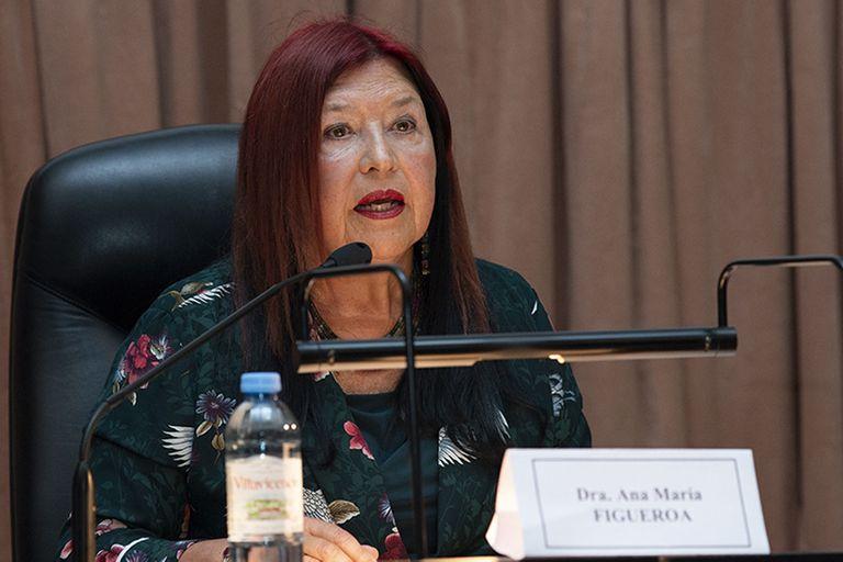 La jueza Ana María Figueroa