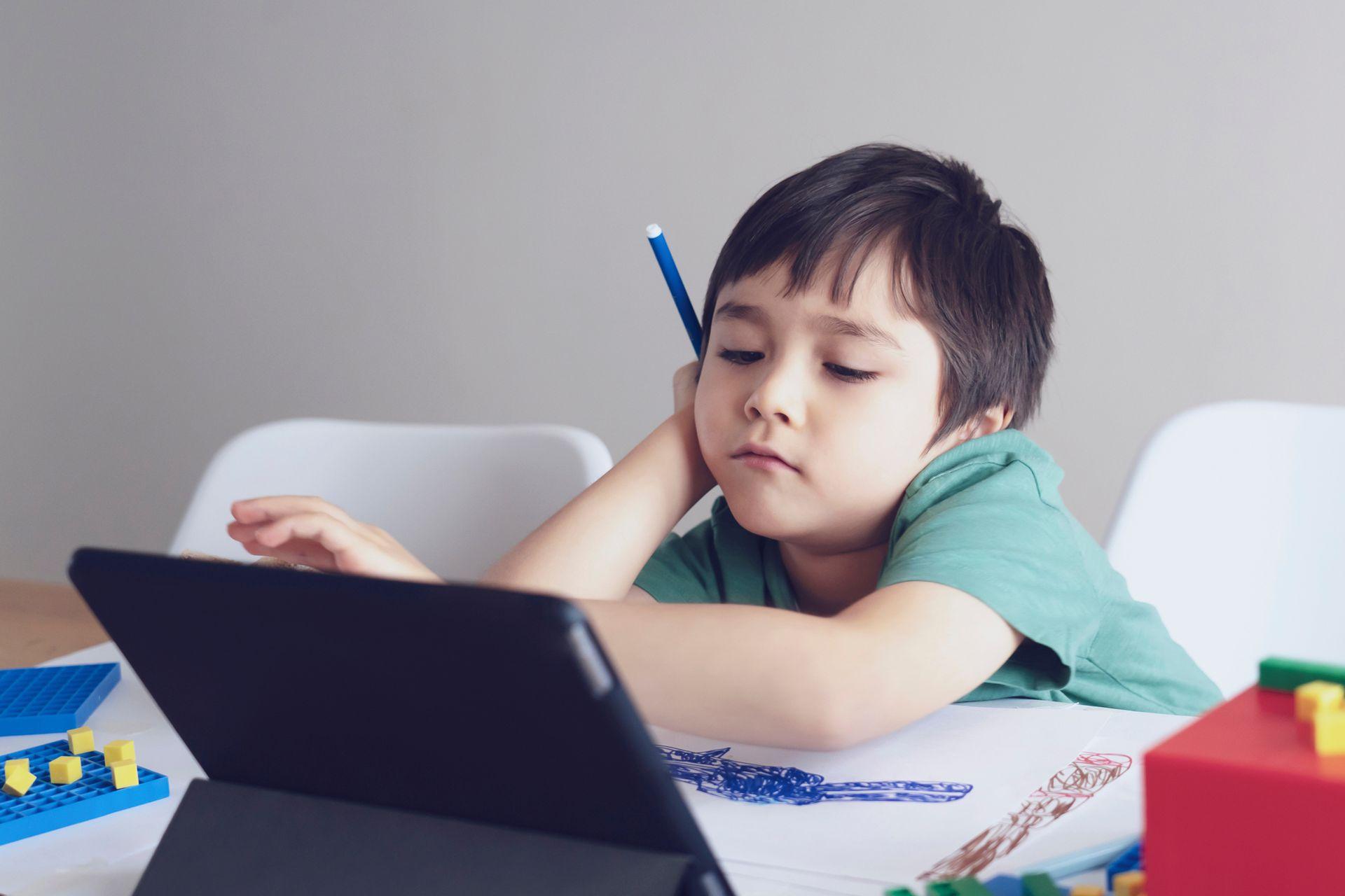 Los especialistas coinciden en que muchos chicos del nivel inicial no logran vincularse con las clases online