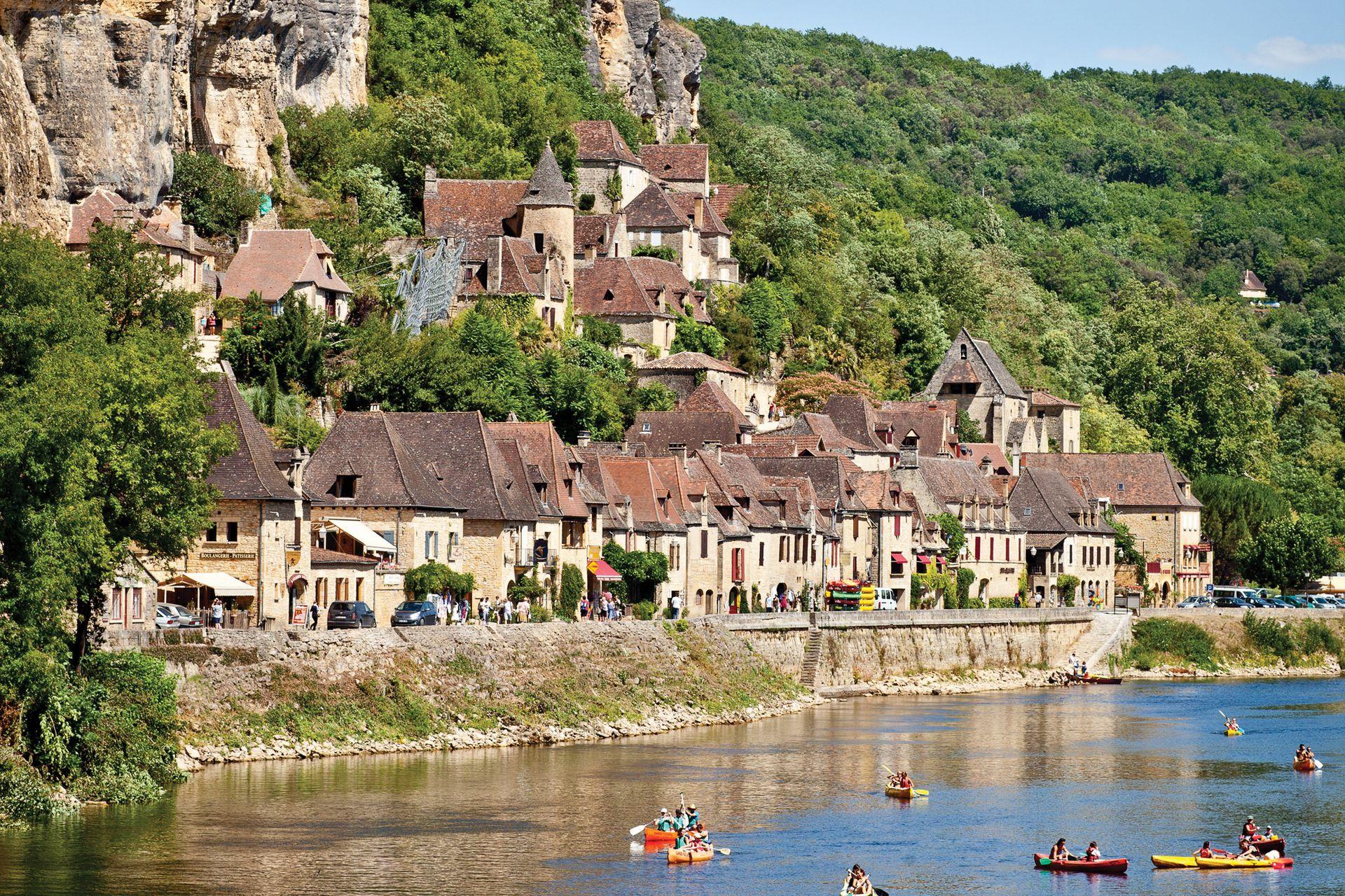 La Roque-Gageac, Francia.