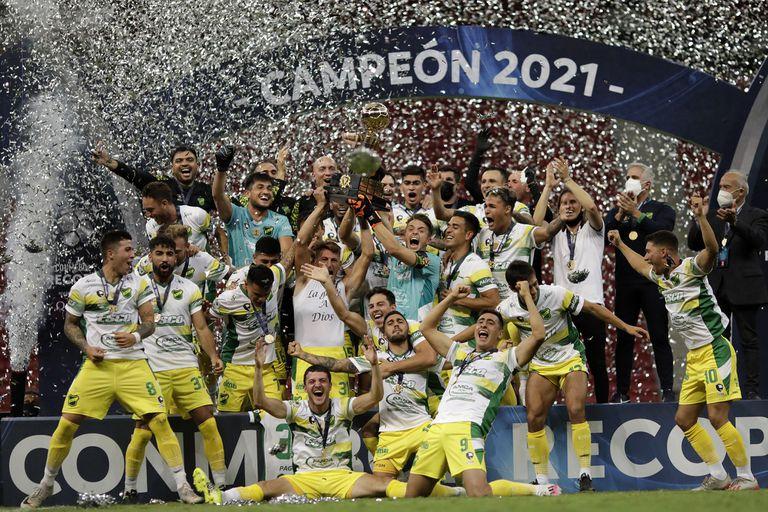 Heroico. Defensa y Justicia campeón: le ganó la Recopa Sudamericana a Palmeiras