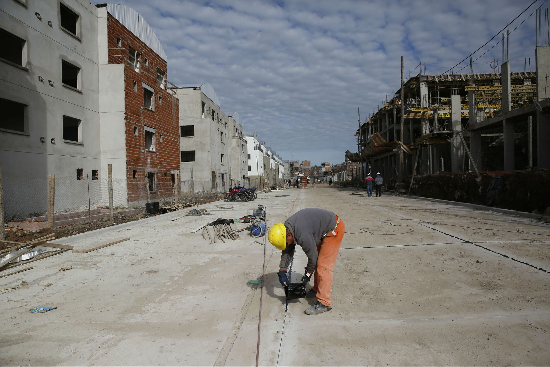 La urbanización incluyó apertura de calles
