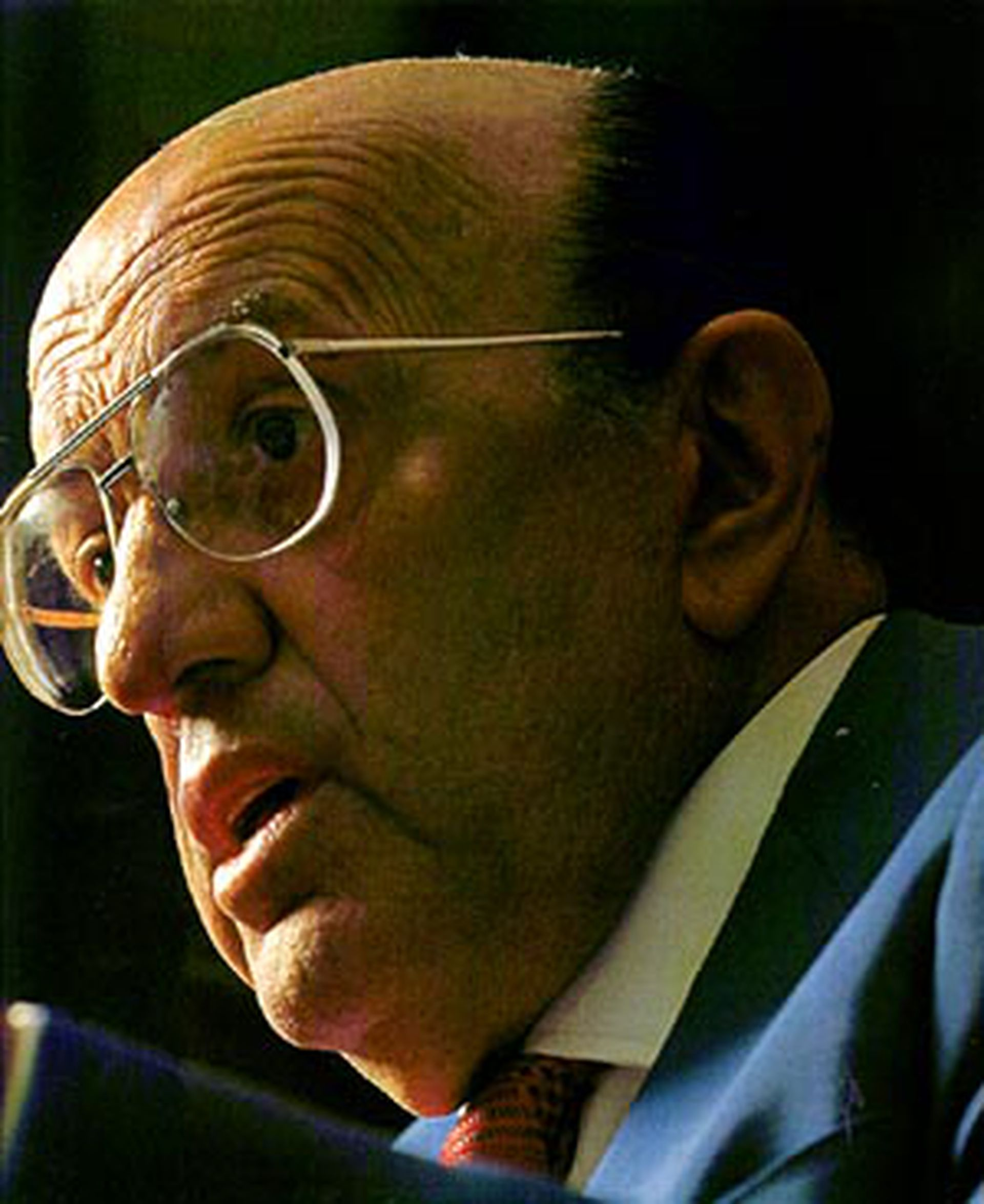 Julio Ramos, fundador del diario Ámbito Financiero.