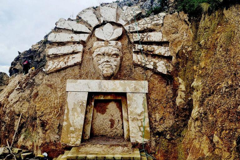 """El sitio fue bautizado como Apukunaq Tianan, que significa """"morada de los dioses"""""""