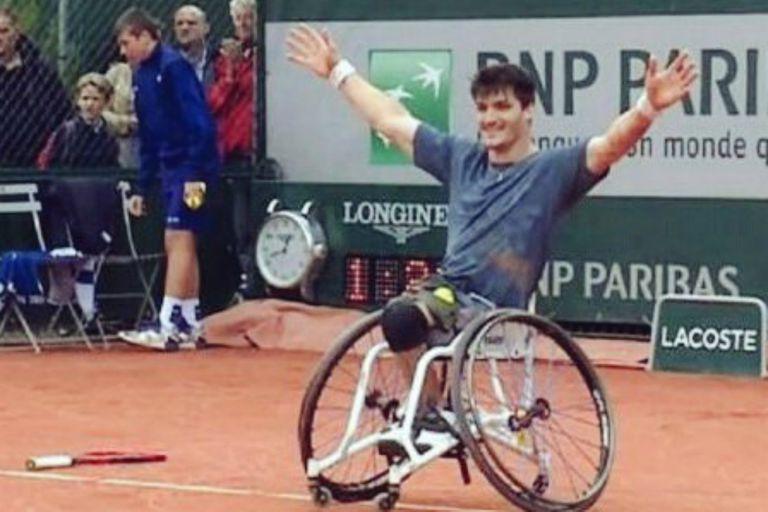 Gustavo Fernández va por otro título en Roland Garros