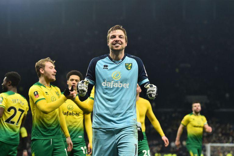 Tim Krul, héroe de Norwich City