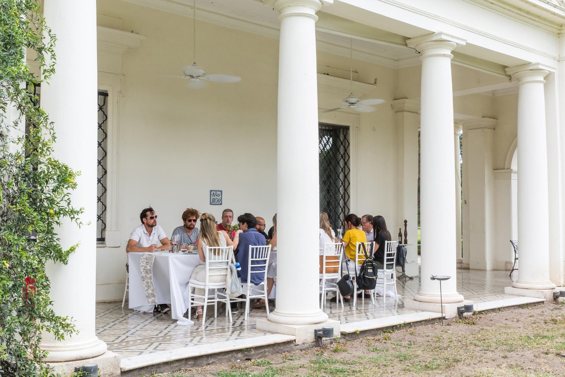 Restaurante 1830, de estancia La Paz, Córdoba.