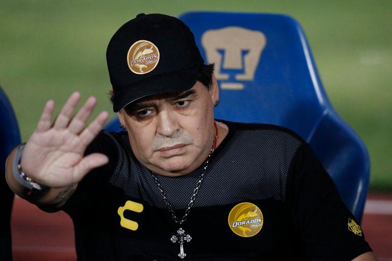 Dorados de Maradona quedó afuera de la Copa MX, con un gol en contra y de pecho
