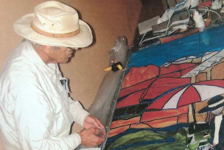 Ya retirado en Surfside, Miami, Gino desarrolló su veta artística y se dedicó a la pintura y la producción de vitrales.