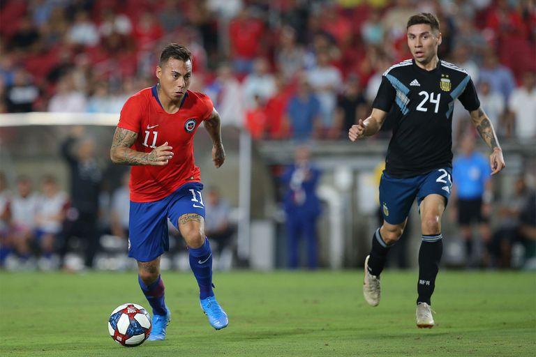 Gonzalo Montiel debutó en la selección Mayor; si cambian las reglas, podría ser parte de los Juegos de Tokio en 2021