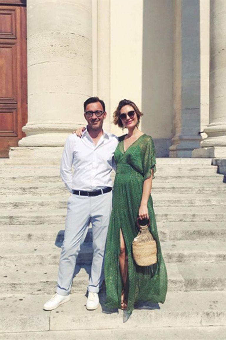 La famosa maquilladora Marie Nicolas viajó junto con su marido Alex