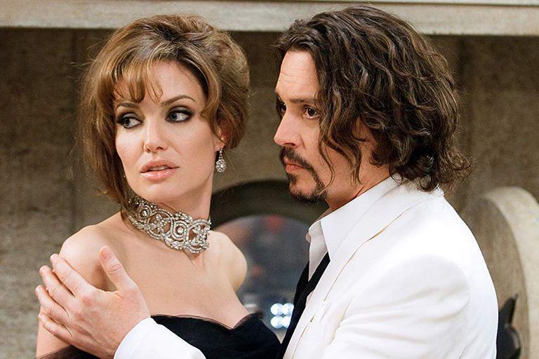 Angelina Jolie no lo bancó demasiado a Johnny Depp en El turista