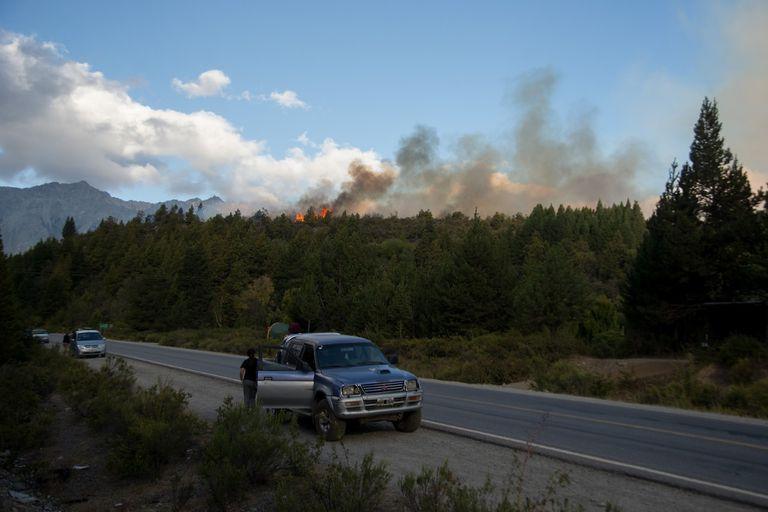 El foco encendido está a menos de 20 kilómetros de El Bolsón