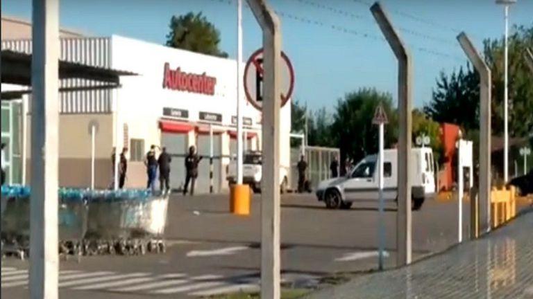 Ayer hubo un intento de saqueo en Luján