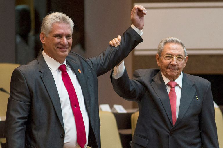 "Miguel Díaz-Canel prometió en Cuba ""dar continuidad a la revolución cubana"""