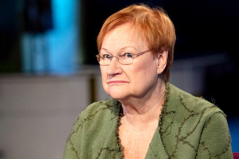 La expresidenta finlandesa Tarja Halonen