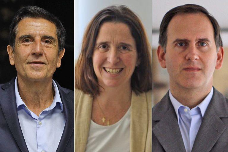 Carlos Melconian, director de Macroview; Marina Dal Poggetto, directora de EcoGo, y Camilo Tiscorina, director de C&T Asesores Económicos