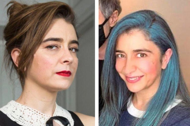 El antes y después del jugado cambio de look de Érica Rivas