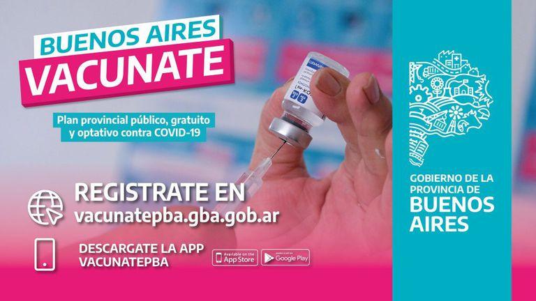 La app VacunatePBA