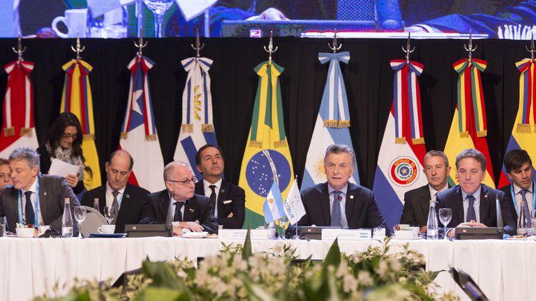 Macri encabeza hoy la Cumbre de Jefes de Estado del Mercosur y Estados Asociados en Mendoza