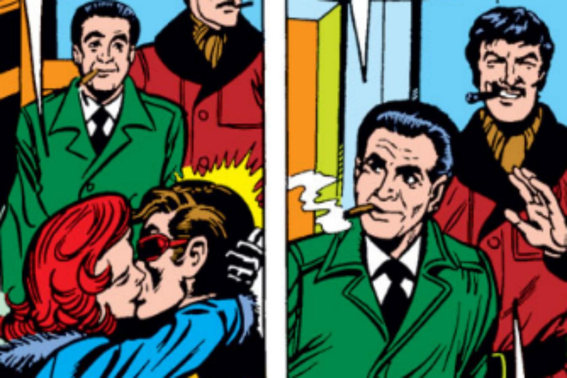 Stan Lee y Jack Kirby tuvieron un cameo en un cómic de los X Men