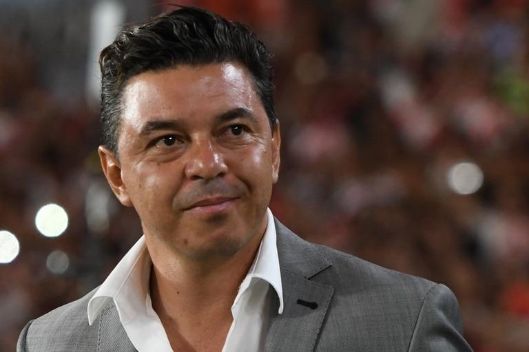Marcelo Gallardo, técnico de River