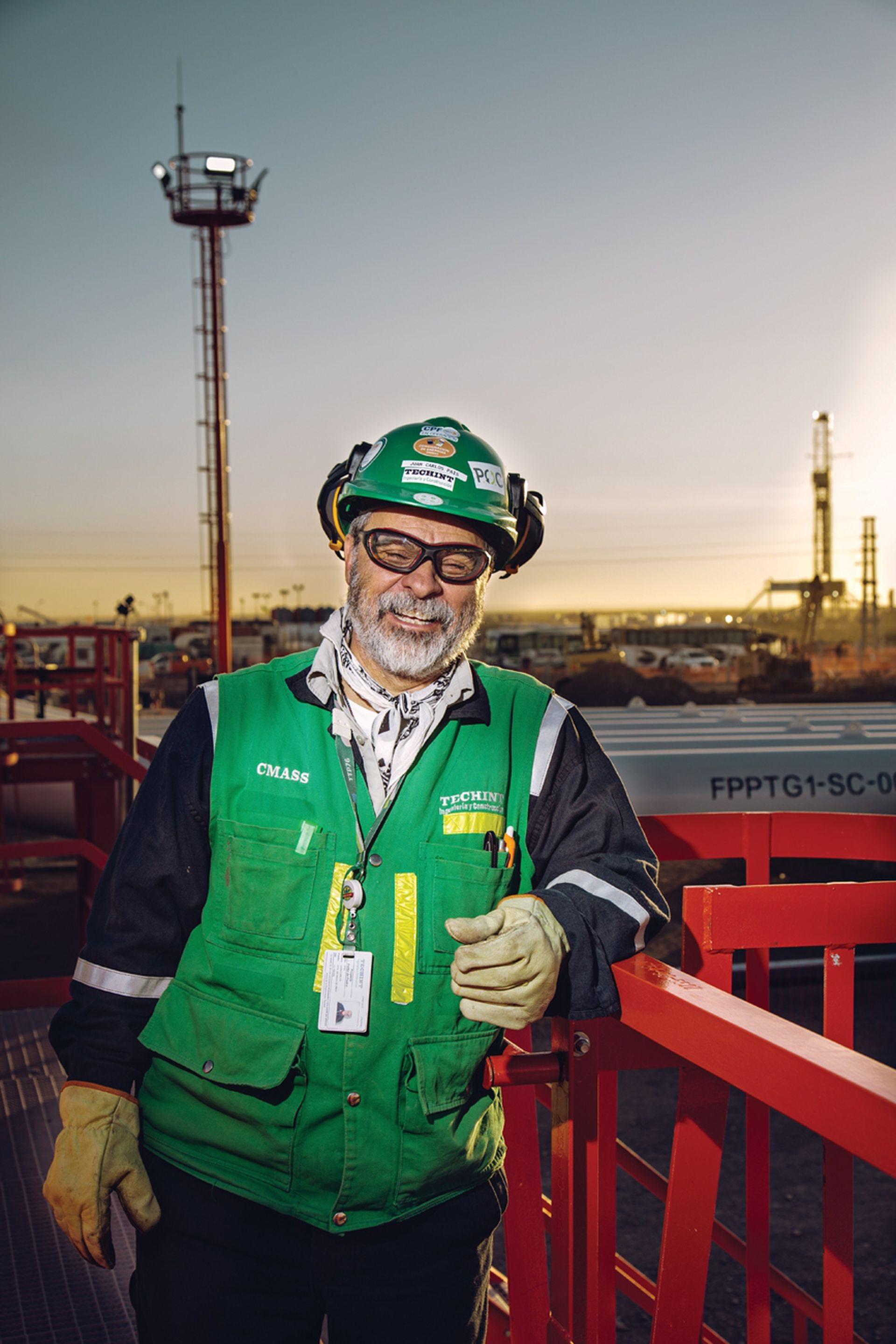 Juan Carlos Pais (59) supervisó grandes obras por el mundo