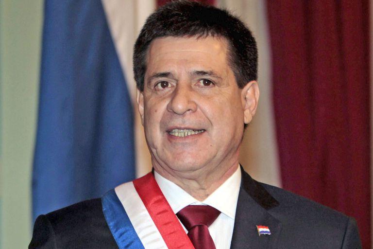 Renunció el presidente de Paraguay Horacio Cartes