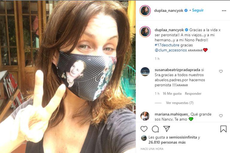 Nancy Duplaá, Jorge Rial, Diego Brancatelli y otros famosos celebraron el Día de la Lealtad en las redes