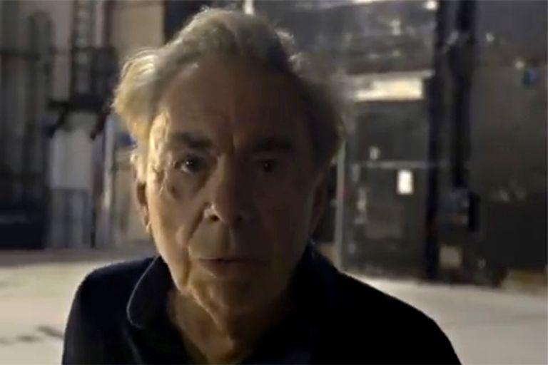 Andrew Lloyd Webber:  de aquel duro mensaje de mediados del año pasado pidiendo la vuelta del público al teatro y su festejo de cumpleaños ensayando una nueva versión musical de Cenicienta