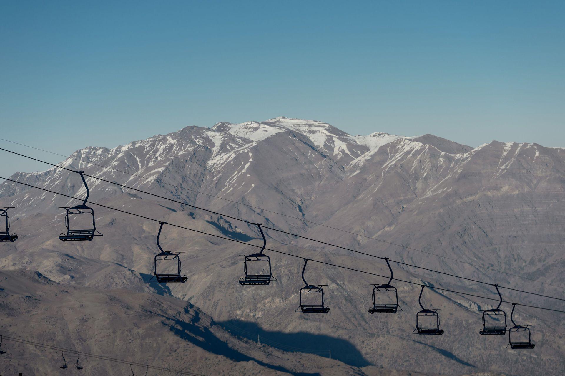 Hay un problema con la extensión de la nieve en prácticamente toda la cordillera de los Andes