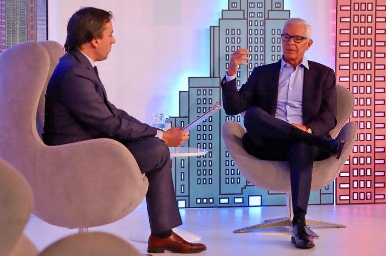 Eduardo Costantini con José del Río en la tercera edición del evento Real Estate Argentina