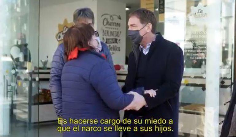 El spot de Diego Santilli que apunta contra Alberto Fernández, Axel Kicillof y Sabina Frederic.