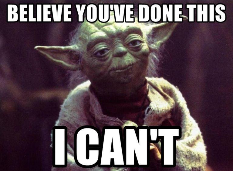 El meme de Weedon representado por el maestro Yoda, de Star Wars