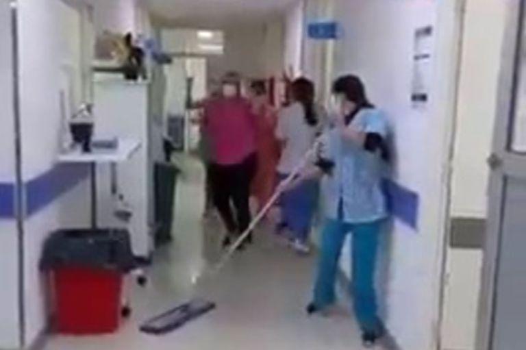 Celebración en el Hospital de Mar de Ajó
