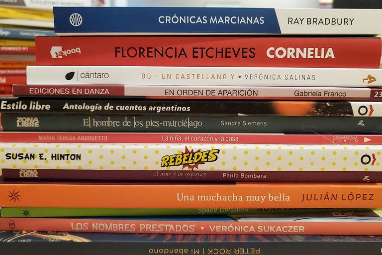 Más de cien mil libros de autores y géneros variados llegaron a las bibliotecas escolares de los secundarios porteños